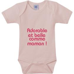 Body personnalisé pour bébé