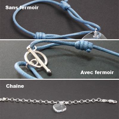 Bracelet en cristal personnalisé