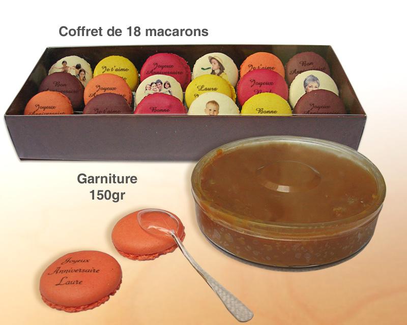 Gateaux macarons à personnaliser