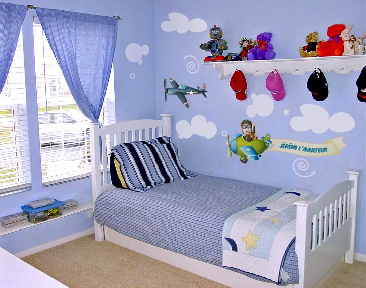 Sticker chambre enfant personnalisable