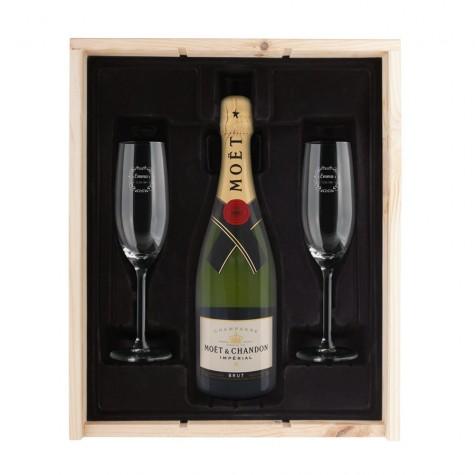coffret-champagne-moet-chandon-verres-graves
