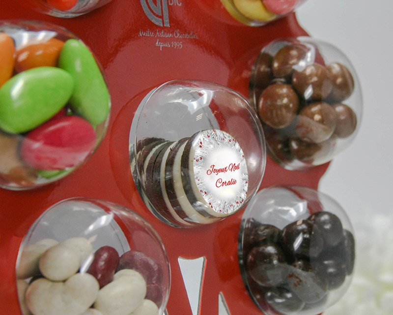 Chocolats personnalises Noel