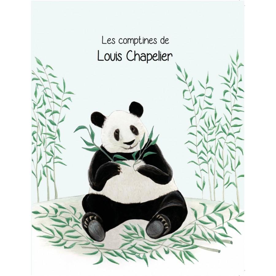 Cadeau personnalise noel livre enfant comptines